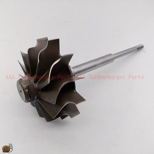 HX40/HX40W Turbo parts Turbine wheel 64mm*76mm-12blades, supplier AAA Turbocharger Parts