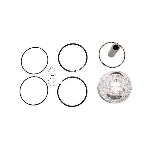 Piston Kit Ring 39mm FOR GY6 Moped 50cc 139qmb TANK ROKETA JALON STRADA TaoTao Peace Piston 57.4mm X 38.7mm Rings Kit