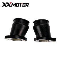 2 PCS Carburetor Install Adapter Interface Carburetter Manifold Intake Pipe Connector Glue For Honda CA250 DD250 CMX250 CMX250C