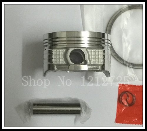 Motorcycle piston and ring CG150 (62MM) with a piston pin 13mm Piston ring thickness 0.8mm free shipping