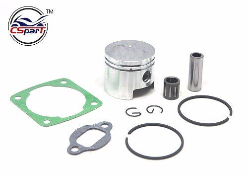 44MM 10MM  Piston Ring Bearing Kit 49CC Mini Moto ATV Quad KXD Dirt Pit Bike Parts