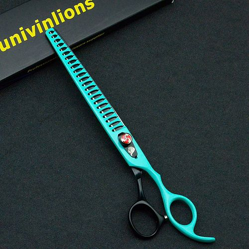 Univinlions 8  Groomer Shark Thinning Scissor Dog Cat Grooming Shear Pet Clippers for Dogs Hair Cutting Trimmer Animal Supply