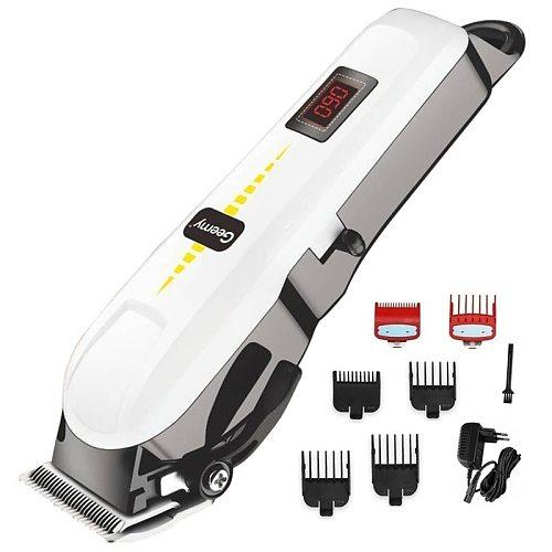 professional barber hair clipper cordless hair trimmer beard trimer for men electric hair cutting machine rechargeable hair cut