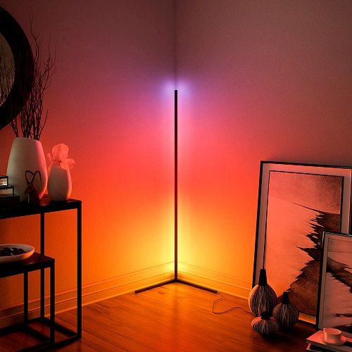 Nordic Corner Floor Lamps Bright Light Interior Atmosphere Lamp Colourful Bedroom Living Room Decoration lighting  Standing Lamp