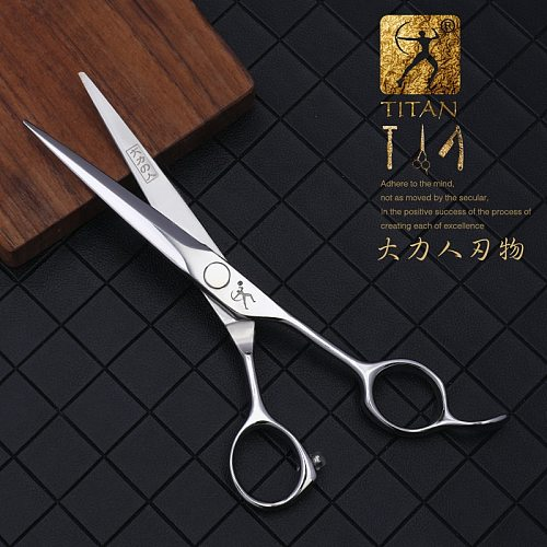 Titan barber scissors hairdressing cutting tools  thinning shears for hairdressers 5.5,6.0,6.5 inch 440c steel