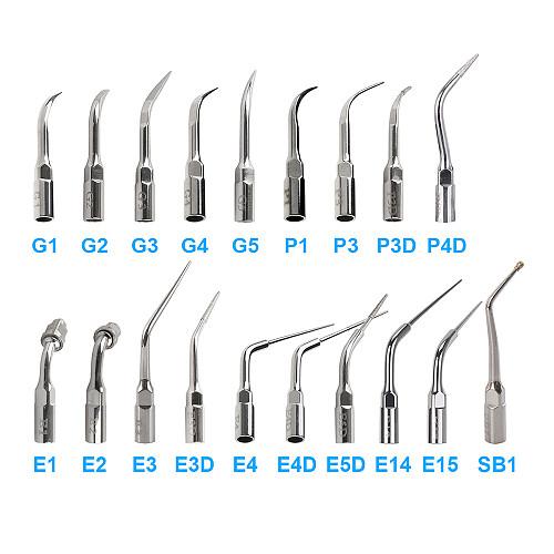 1pc Dental Ultrasonic Scaler Tip Scaling Periodontics Endodontics Dentists Multifunction Endo Perio Scaling Tips G P E