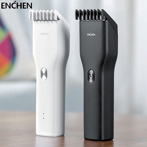 ENCHEN Boost USB Electric Hair Clippers Trimmers For Men Adults Kids Cordless Rechargeable Hair Cutter Machine Professional