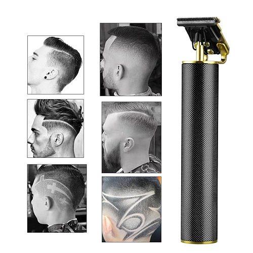 USB rechargeable ceramic Trimmer barber Hair Clipper Machine hair cutting Beard Trimmer Hair Men haircut Styling tool