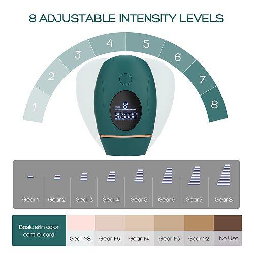 IPL Hair Removal Laser Epilator 900000 Flash Shaving And Hair Removal Permanent Epilator For Women Men's Shaver Trimmer