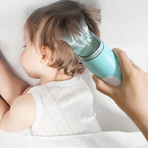 Automatic Gather Hair Trimmer Baby Adult Mute Waterproof Kids Hair Clipper Sleep Haircut Home-Use No Oil