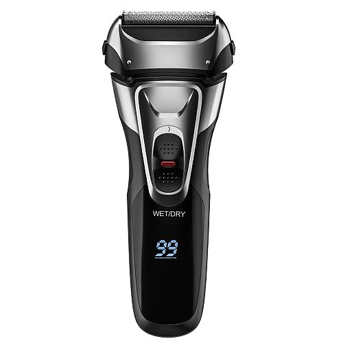 Professional shaver rechargeable powerful shaver for men 3D washable electric Razor wet dry face beard shaving machine