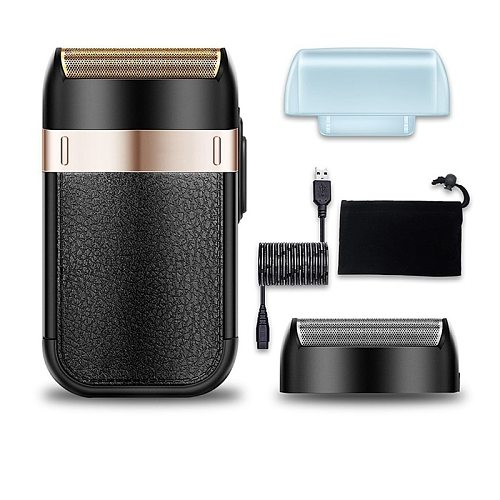 Powerful Rechargeable Shaver Shaper barber foil electric shaver head shaving electric razor for barbers stylists finishing tool