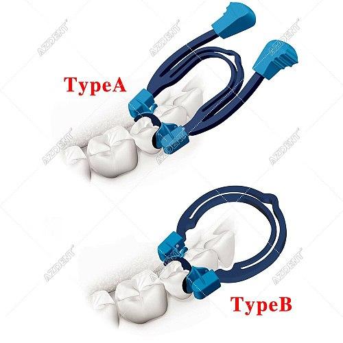 Dental Matrix Sectional Contoured Metal Spring Clip Rings Dentist Tools Lab Dental Instrument