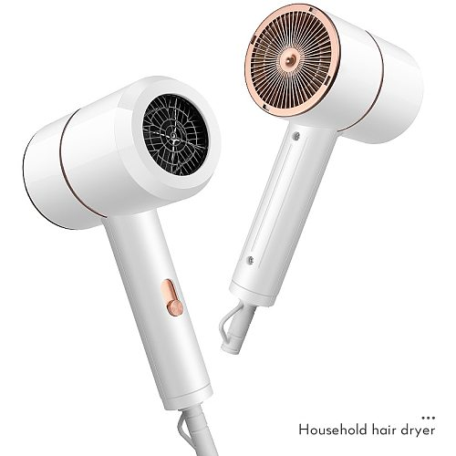 Professional Mini Hair Dryer Electric Blow Dryer Salon Blowdryer Anion Air Water Ion Hot and Cold Wind Hair Drying Tools