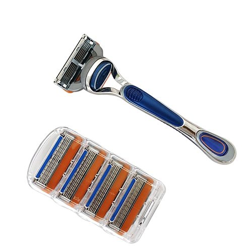 4pcs/lot Razor Blades 5 Layer Blades Shaving for Gilettee Fusion Power Shaver Blades For Gillette Proglide machine