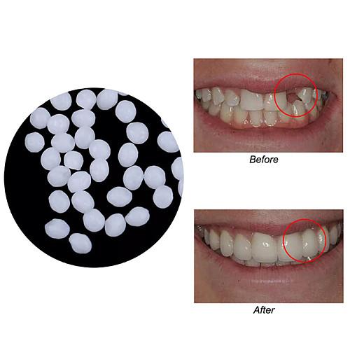 10g Teeth And Gap Falseteeth Solid Glue Resin Denture Adhesive Teeth Dentist FalseTeeth Solid Glue Temporary Tooth Repair Set