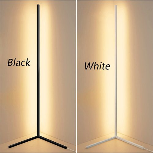 Modern RGB Floor Lamps Floor Lights Interior Atmosphere Lamp Colourful Bedroom Living Room Decoration Lighting Standing Lamp