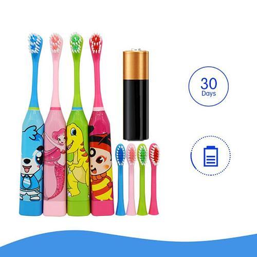 Children's Electric Toothbrush Automatic Ultrasonic Waterproof Cartoon Toothbrush Children's Life Education And Nursing Tools
