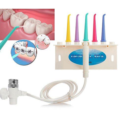 Dental SPA Faucet Oral Irrigator Water Jet Toothbrush Floss Dental Flosser Oral Hygiene Dental instrument