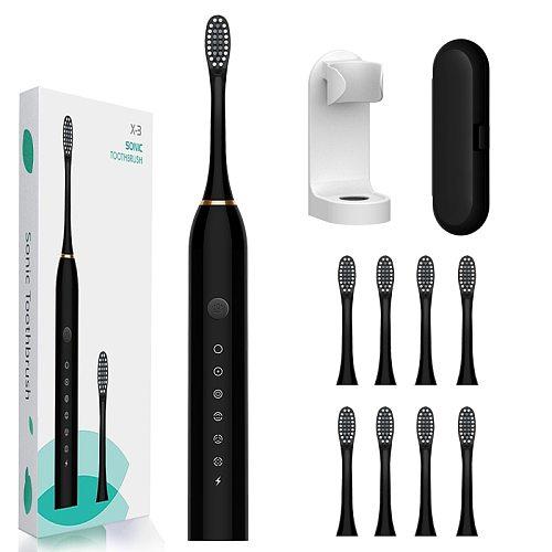 Sonic Electric Toothbrush Powerful Ultrasonic Sonic Electric Toothbrush USB Rechargeable Adult Tooth Brush Whitening Teeth Brush