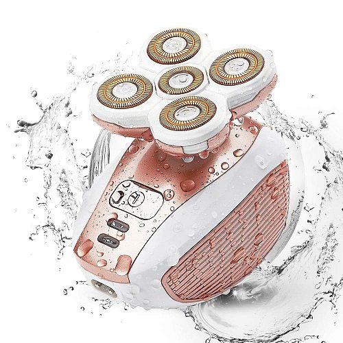 Painless hair removal epilator female shaving machine women razor leg body electric lip shaver for women cheek chin lady shaver
