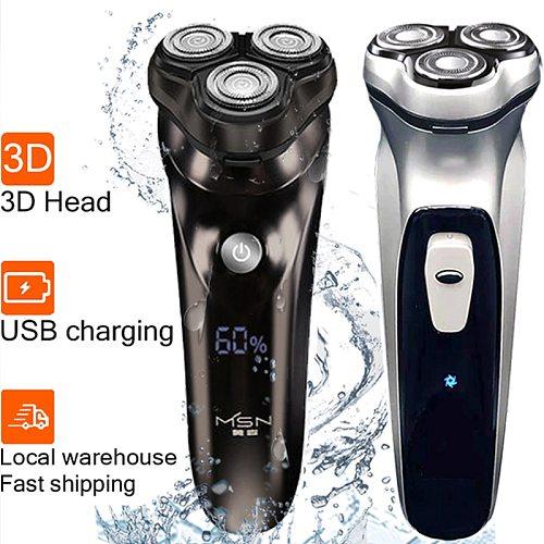 Xiaomi youpin electric shaver for men razor shaving machine beard trimmer for intimate areas MSN IPX7 waterproof hair clipper 5