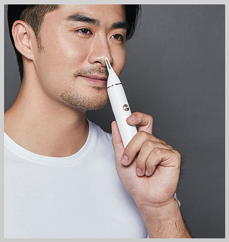 Xiaomi Soocas IPX5 Waterproof Nose Eyebrow Hair Trimmer Sharp Blade Body Wash Minimalist Design Safe Cleaner Trim Personal Daily