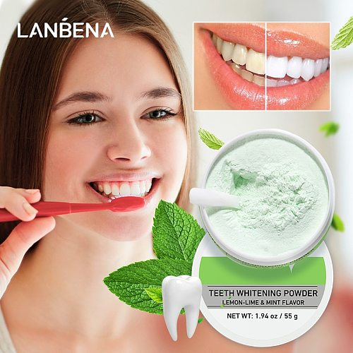 Teeth Whitening Charcoal Powder Lemon White Tooth Cleaning Bleaching Tartar Stains Plaque Teeth Care Oral Hygiene Dental Tools