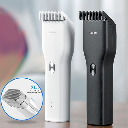 Xiaomi ENCHEN Barber Hair clipper Trimmer for men Hair cutting machine Electric shaver Cordless Rechargeable Cutter Machine