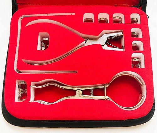 1 Set Teeth Care Dental Dam Perforator Dental Dam Hole Puncher Pliers for Dentist Rubber Dam Puncher Lab Orthodontic Tools