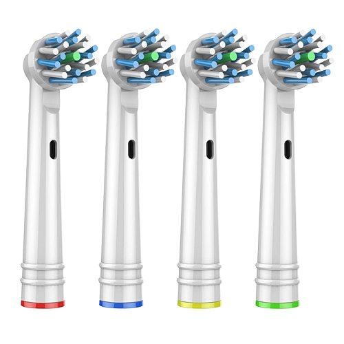 Cabezales De Repuesto Para Cepillo De Dientes EléCtrico Nbhbjeb-50p, 4uds., Para Pro Health, Triumph, 3d Excel, Clean Precision