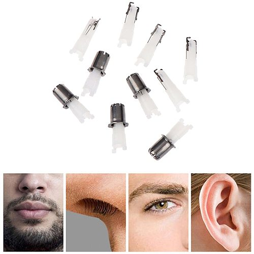 5Pcs Nose Hair Cutter Nose Trimmer Replacement Head 3-in-1  Razor Hair removal replacement head