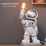 modern seletti Astronaut Table Lamps Resin Desk Lamp Bedroom Lamp Nordic Creative Living Room Decor Space Man LED wall light