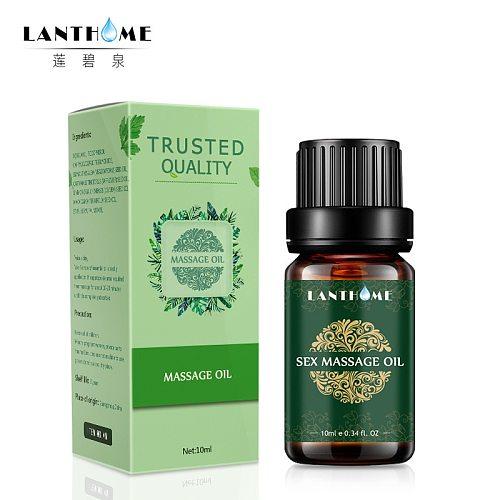 Lanthome Sexy Massage Oil Spa Essential Oil  Sexual Pheromone Aphrodisiac Excitement Enhancer Moisturizing Natural Aroma