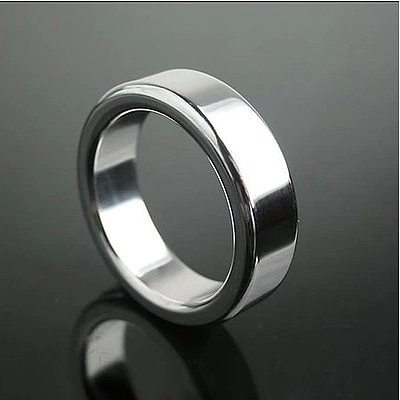 26/28/30mm Stainless Steel Penis Rings Metal Semen Lock Cock Cage Chastity Delay Product Male Afrodisiac Device Men Sex Toys