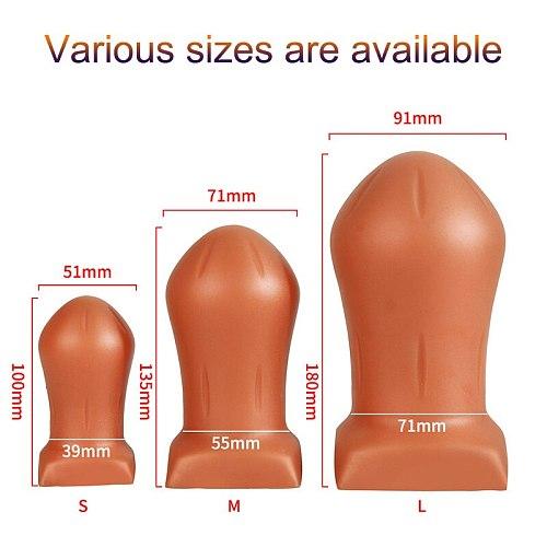 huge anal plug balls butt plug anus dildo vagina dilator expansion prostate massager erotic intimates toys for couples sex shop