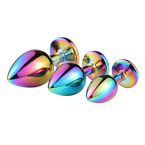 Anal Beads Crystal Jewelry Round Butt Plug Stimulator Sex Toys Dildo Stainless Steel Anal Plug For Gay Couple Adult Game