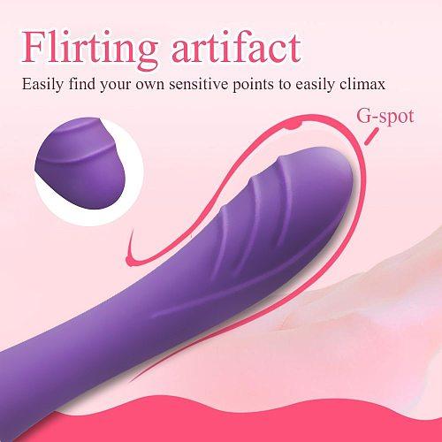 Vibrators for Women Soft Silicone Dildo Vibrator Female Sex Toy Vibrator Women Anal G Spot Clitoris Stimulator toys for adults