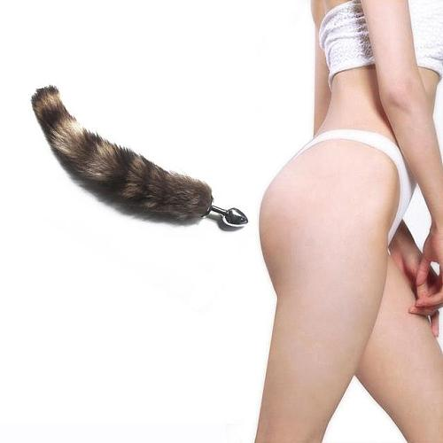Women Men Silicone Fox Tail Anal Butt Plug Adults Sex Toy for Couples Prostate Massager Drop Shipping Sex Shop