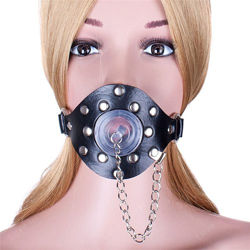 Janpanese Open Mouth Gag with Cover BDSM Slave Fetish Adult Game Erotic Sex Toy Bed Restraints Sex Products For Couples S&M Tool