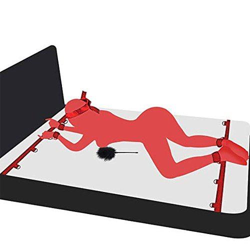 Erotic Flirting Sex Toys For Women Wrists & Ankle Under Bed BDSM Bondage Set Restraint Adults Sex Handcuffs Couple Games