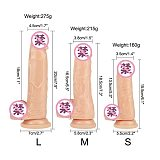 Erotic Soft Jelly Dildo Anal Butt Plug Realistic Penis Strong Suction Cup Dick Toy for Adult G-spot Orgasm Sex Toys for Woman