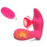 Vagina Sucking Vibrator 10 Speeds Vibrating Sucker Oral Sex Suction Clitoris Stimulator Erotic Sex Toy Sexual Wellness for Women