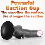 35cm Big Realistic Dildo Phthalate-free Phallus Huge Dildo Suction Cup Long Penis for Man Gay Sex Toys Woman G Spot Stimulate