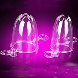 Anal Expansion Vaginal Dilator Illumination View with Mini Vibrator Fetish Butt Plug Anus Speculum Adult Sex Toy for Woman Man