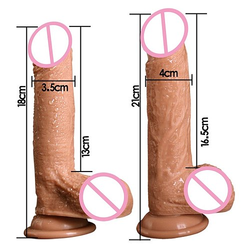 Huge Realistic Dildo Silicone Penis For Women Remote Suction Cup Big Huge Dildo For Men Real Penises For Women
