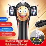 12 Speed Vibration Penis Enlarge Pumps Vacuum Negative Pressure Penis Enhancement Pumps Male Masturbator Penis Glans Trainer