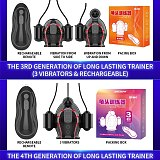 5 Vibrators for Men Glans Masturbator 12 Speeds Penis Trainer Male Masturbation Delay Ejaculation Lasting Vacuum Sex Toys