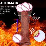 Realistic Dildo Vibrators Multi Modes Telescopic Rotation Vibrating Dildo Female Masturbation Penis Adult Sex Toys For Women Gay