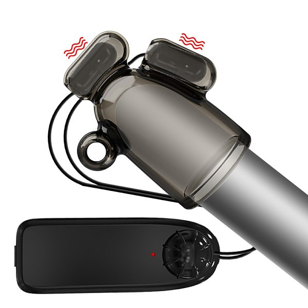 Vibrating Penis Sleeve Glans Stimulator For Men Adult Sex Toys Male Masturbator Ejaculation Time Delay Trainer Bullet Vibrator
